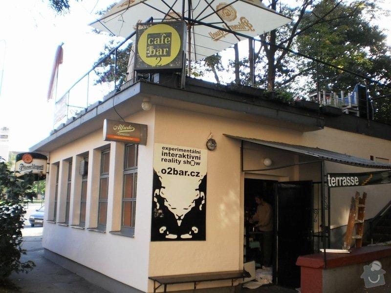 Nátěr fasády a malba v interiéru O2 bar -Karlovo náměstí: P9210007