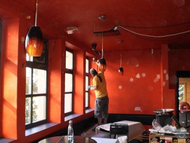Nátěr fasády a malba v interiéru O2 bar -Karlovo náměstí: P9210005