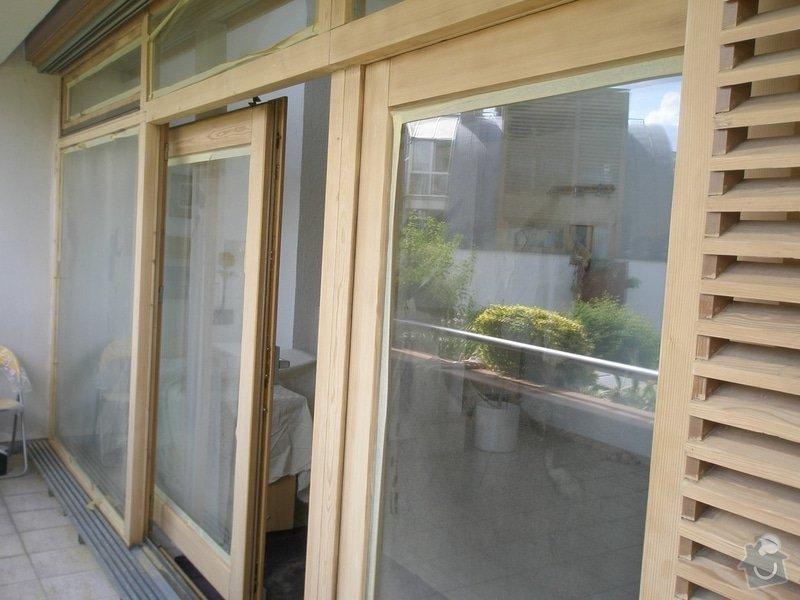 Obnova lazury na francouzských oknech: P6080367