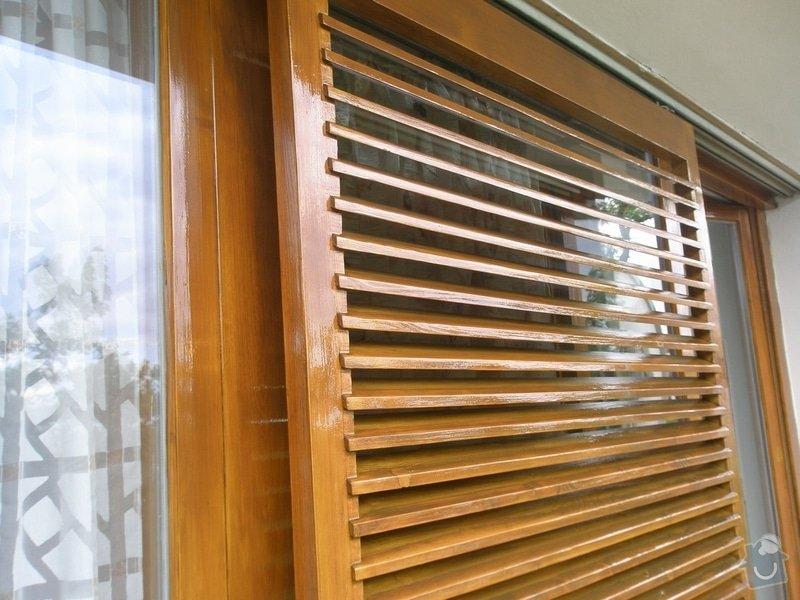 Obnova lazury na francouzských oknech: P6230371