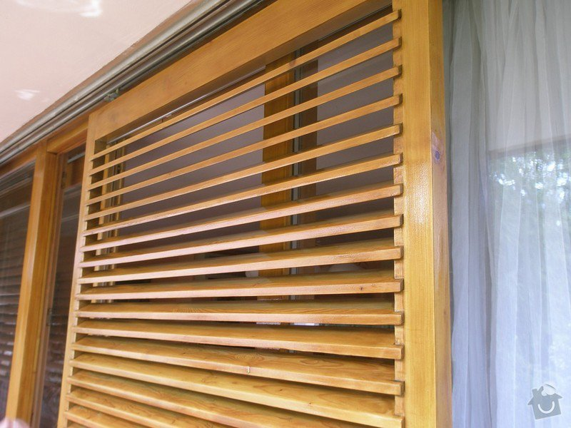 Obnova lazury na francouzských oknech: P6240379