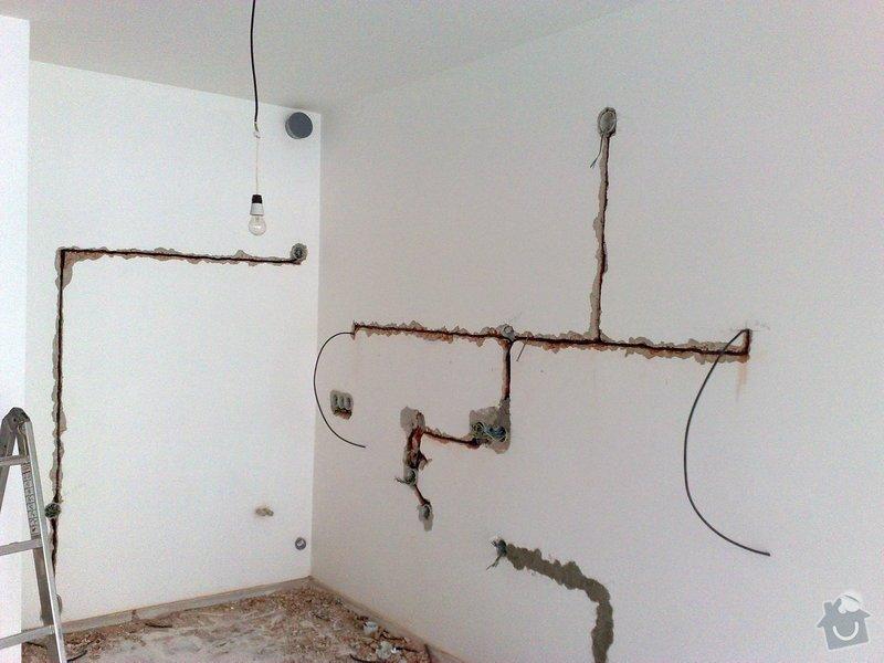 Nová elektroinstalace pro kuchyňskou linku.: 11012011068