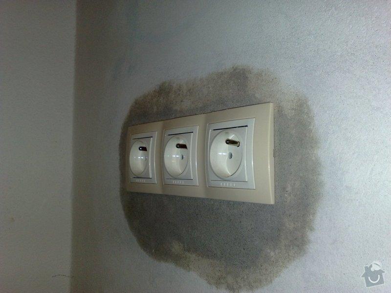 Nová elektroinstalace pro kuchyňskou linku.: 11012011074