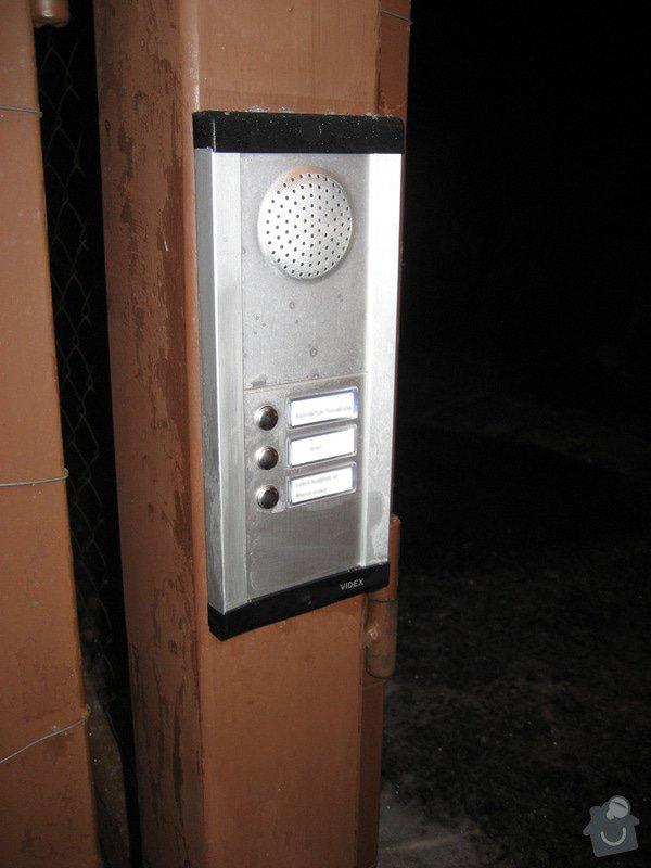 Instalace domovního telefonu a el. zámku: IMG_4318