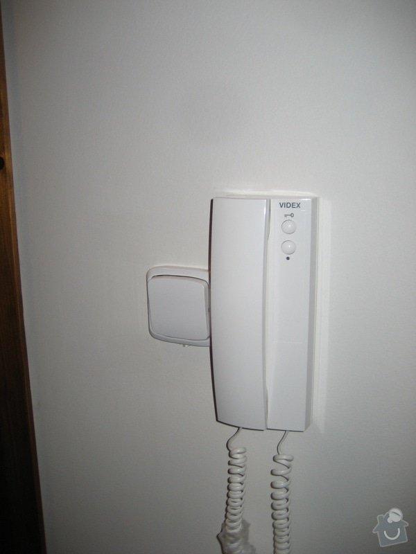 Instalace domovního telefonu a el. zámku: IMG_4311