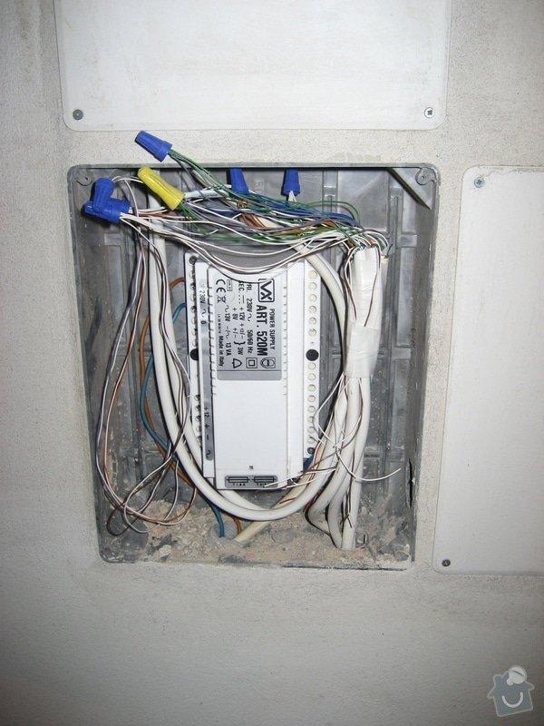 Instalace domovního telefonu a el. zámku: IMG_4313