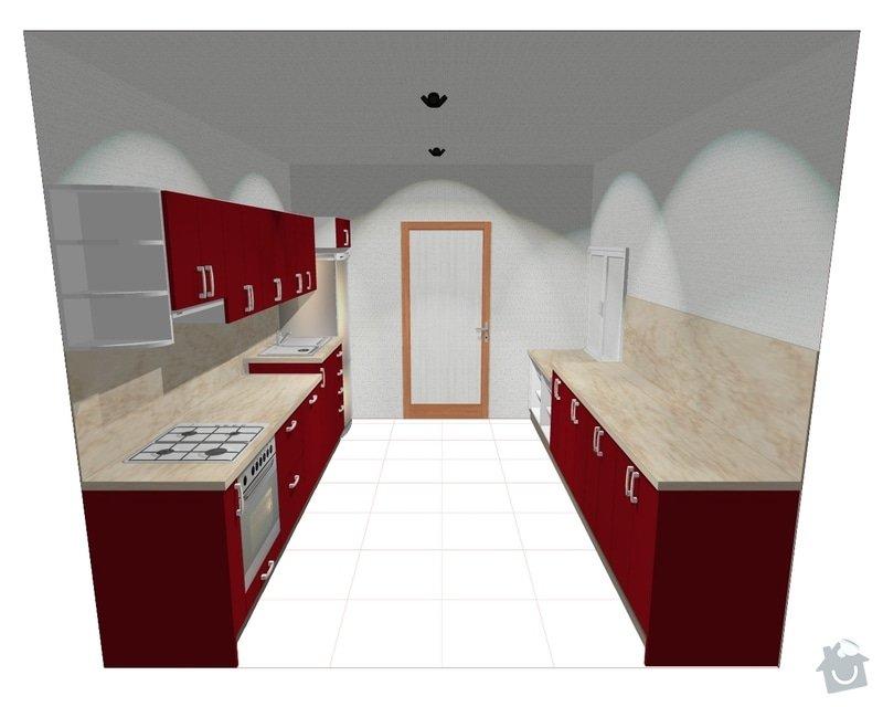 Kuchyňská linka: K1