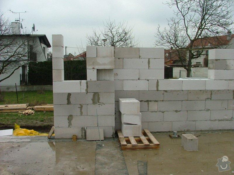 Dokončení základové desky RD a realizace hrubé stavby RD: sn_mek_066
