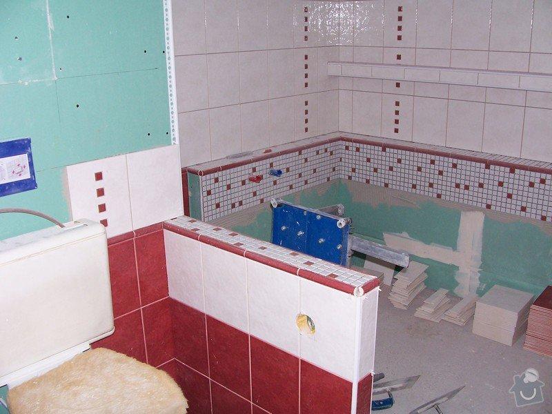 Obklad koupelny: 100_0894