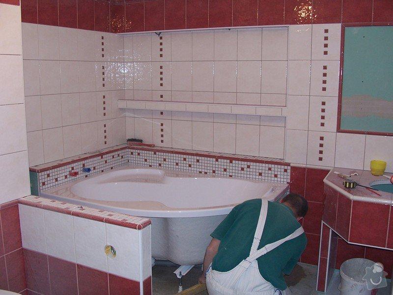 Obklad koupelny: 100_0899