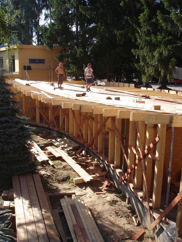Hrubá stavba RD, dřevostavba: DSC06738