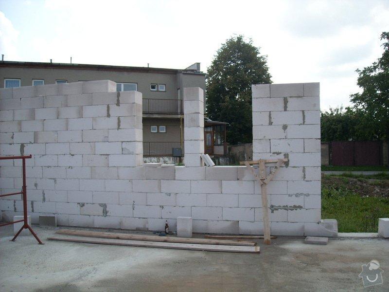 Dokončení základové desky RD a realizace hrubé stavby RD: sn_mek_019