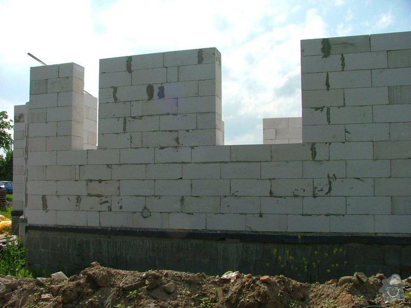 Dokončení základové desky RD a realizace hrubé stavby RD: sn_mek_071
