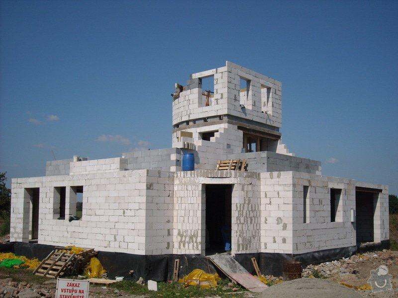 Dokončení základové desky RD a realizace hrubé stavby RD: sn_mek_173