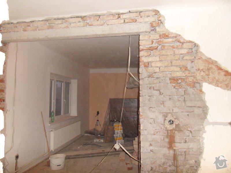 Rekonstrukce části domu: SDC11417