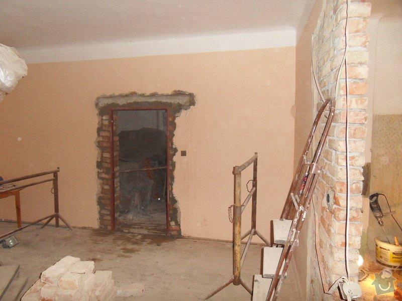 Rekonstrukce části domu: SDC11419