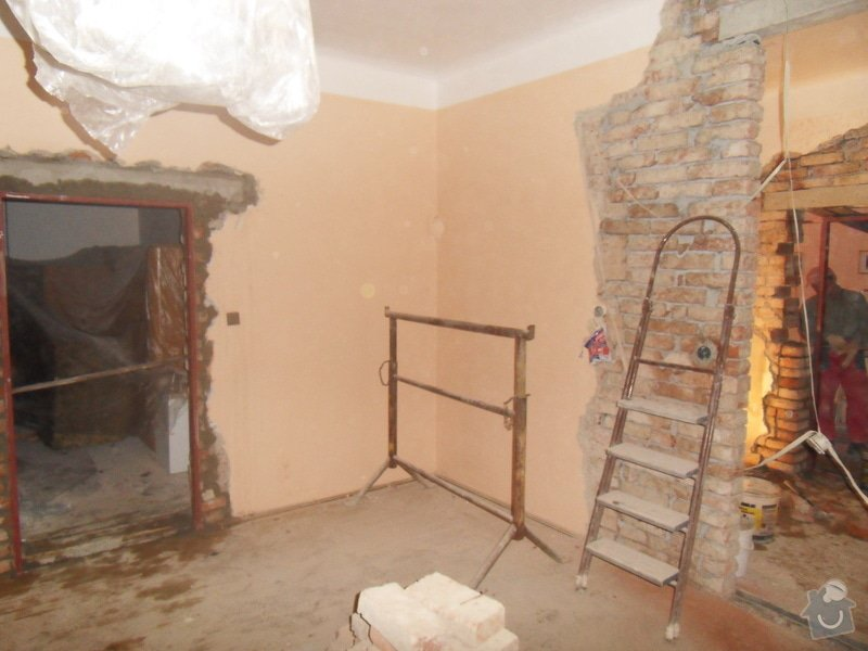 Rekonstrukce části domu: SDC11421