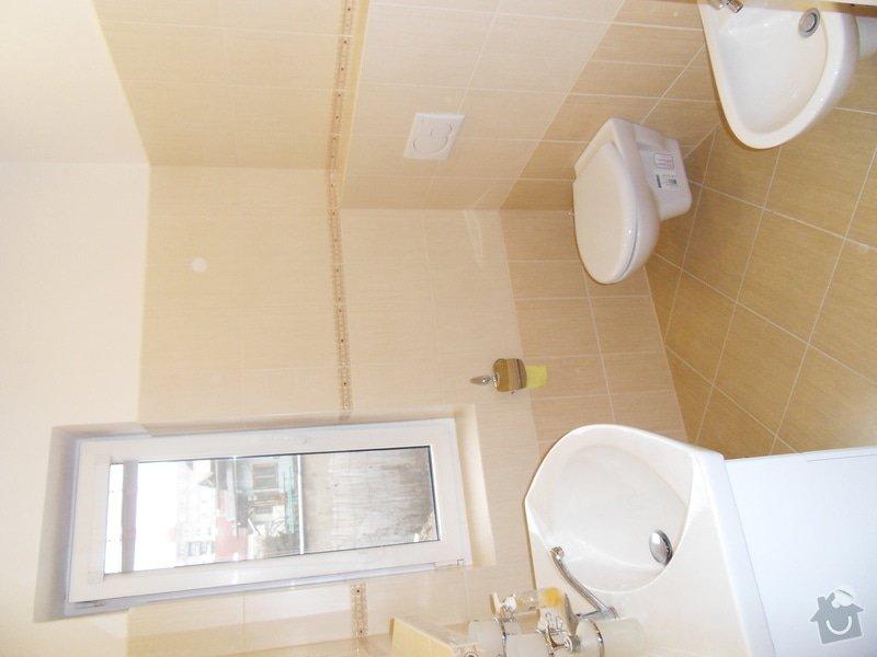 Rekonstrukce části domu: SDC11505