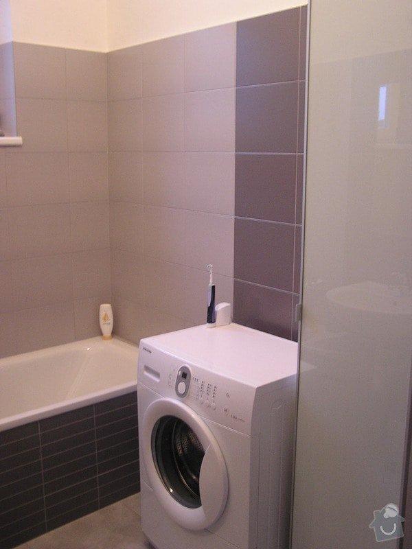 Rekonstrukce koupelny: pracka_1