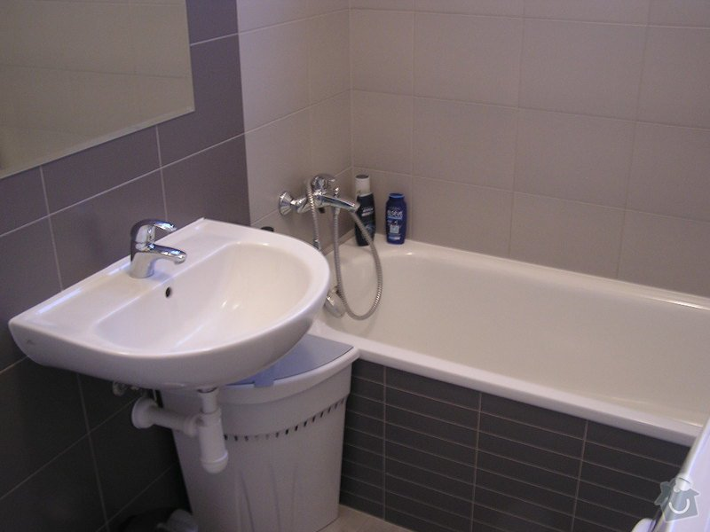 Rekonstrukce koupelny: vana