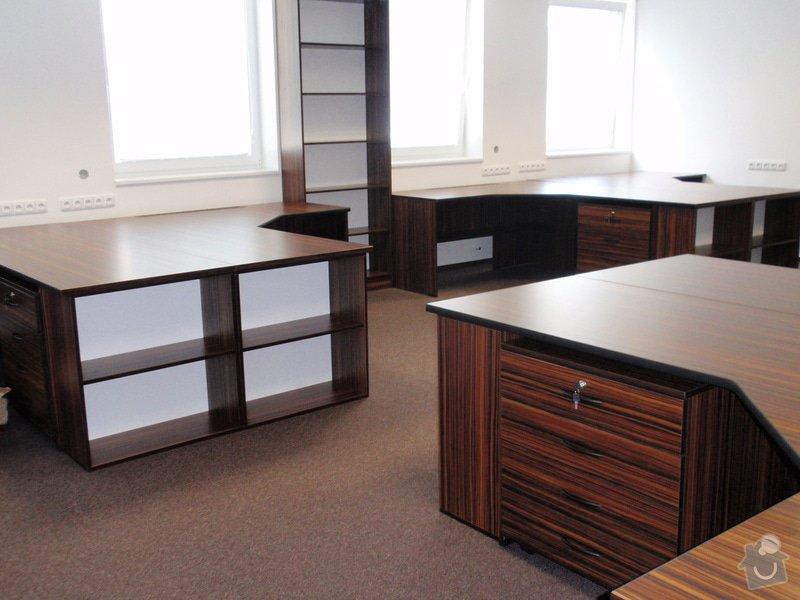Výroba nábytku do kanceláře,pokládka koberců,výroba kuchyně,skříně na šanony,malování,štukování: truhlarna_akce_046