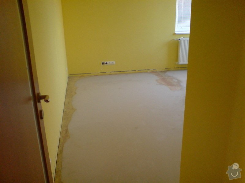 Vyrovnání podkladu a pokládka plovoucí podlahy: telefon_foto_027
