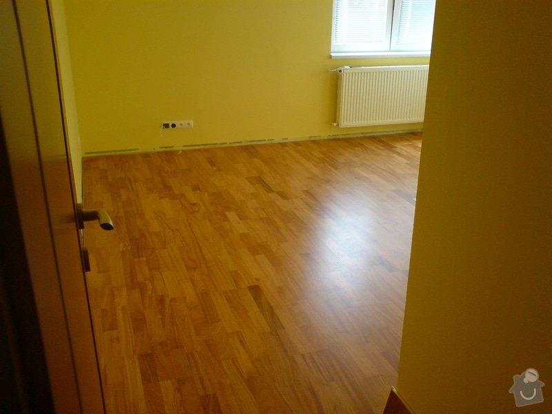 Vyrovnání podkladu a pokládka plovoucí podlahy: telefon_foto_023
