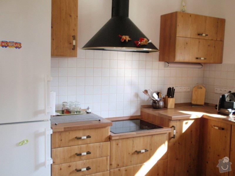 Výroba + montáž kuchyňské linky: truhlarna_duben2009_027