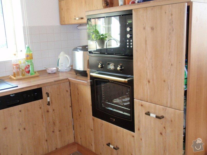 Výroba + montáž kuchyňské linky: truhlarna_duben2009_029