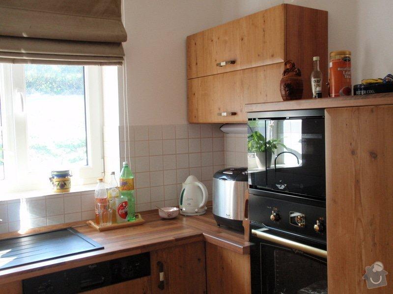 Výroba + montáž kuchyňské linky: truhlarna_duben2009_030