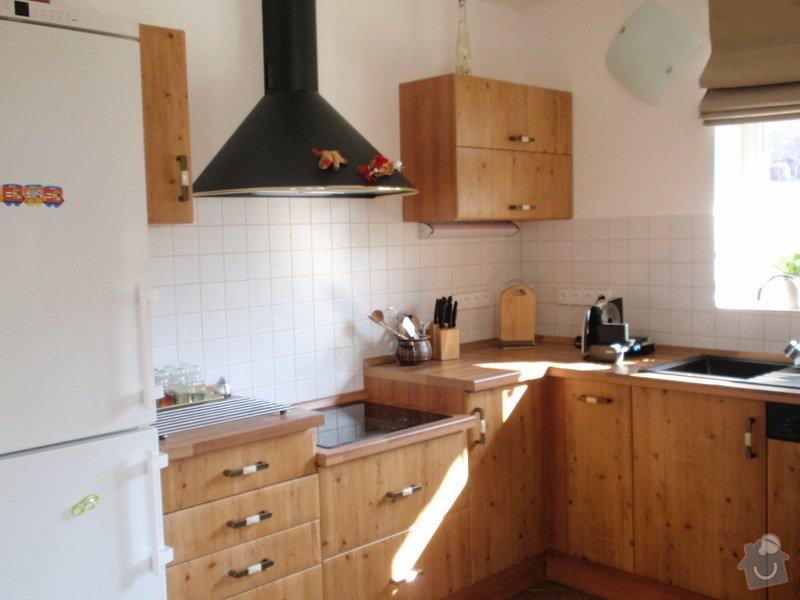 Výroba + montáž kuchyňské linky: truhlarna_duben2009_031