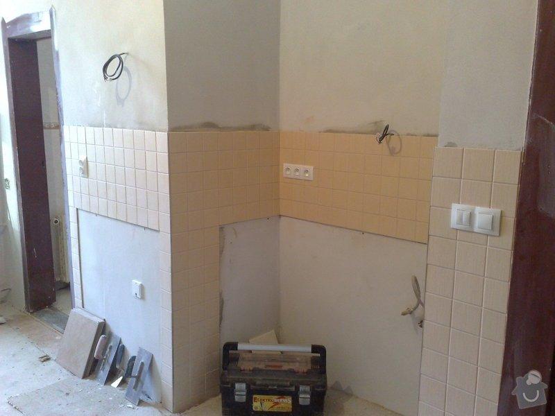 Nová elektroinstalace v kuchyni a koupelně: 03022011115