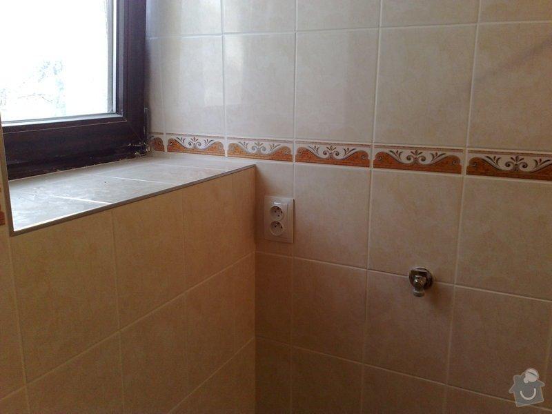 Nová elektroinstalace v kuchyni a koupelně: 03022011112