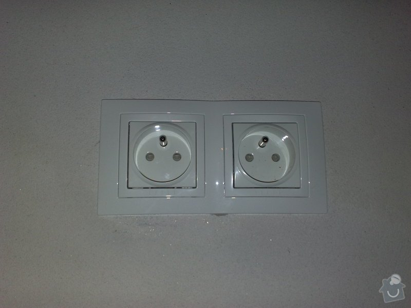 Nová elektroinstalace v kuchyni a koupelně: 03022011116