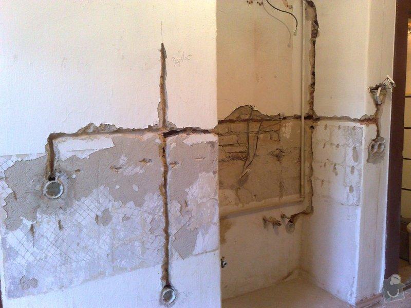 Nová elektroinstalace v kuchyni a koupelně: 10012011058