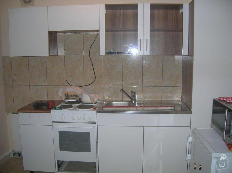 Montáž kuchyňské linky a nábytku: DSCN2038