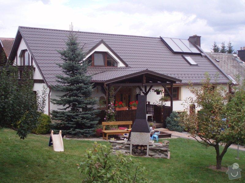 Stavba pergoly: P9131159