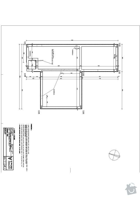 Hrubá stavba RD bungalov: zaklady