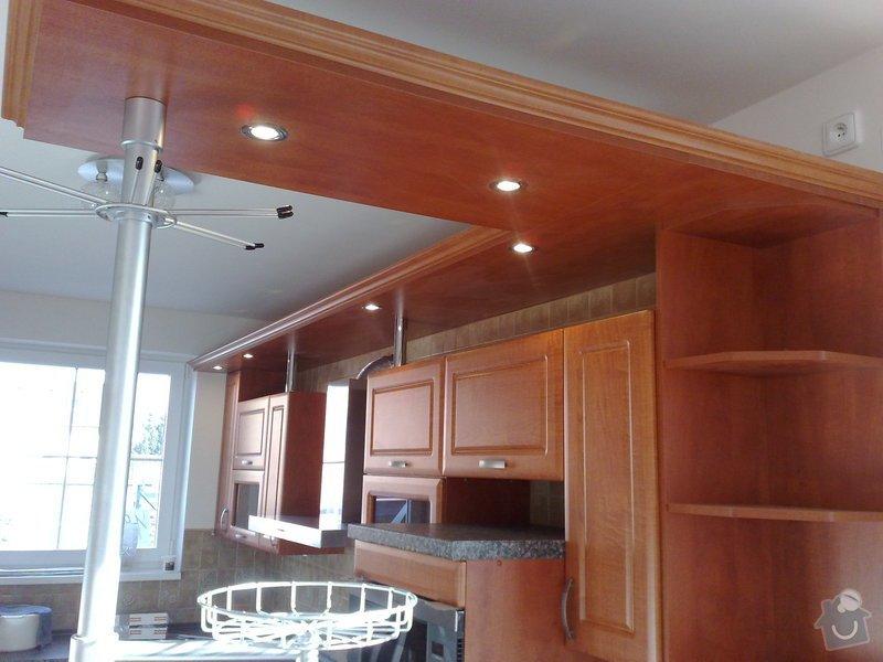 Montáž svítidel a el. trouby v kuchyňské lince: 05022011121
