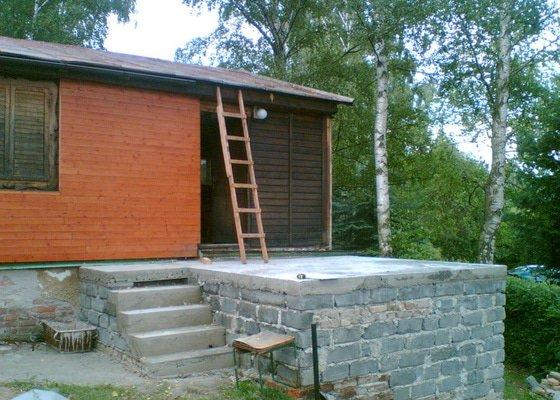 Rekonstrukce střechy + zastřešení terasy