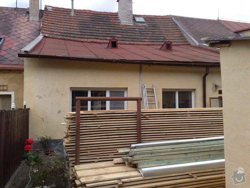 Rekontrukce střechy - dvouplášť: chod_plan_03