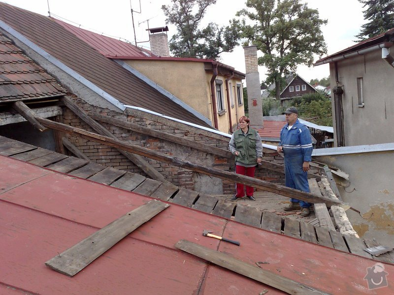 Rekontrukce střechy - dvouplášť: chod_plan_04