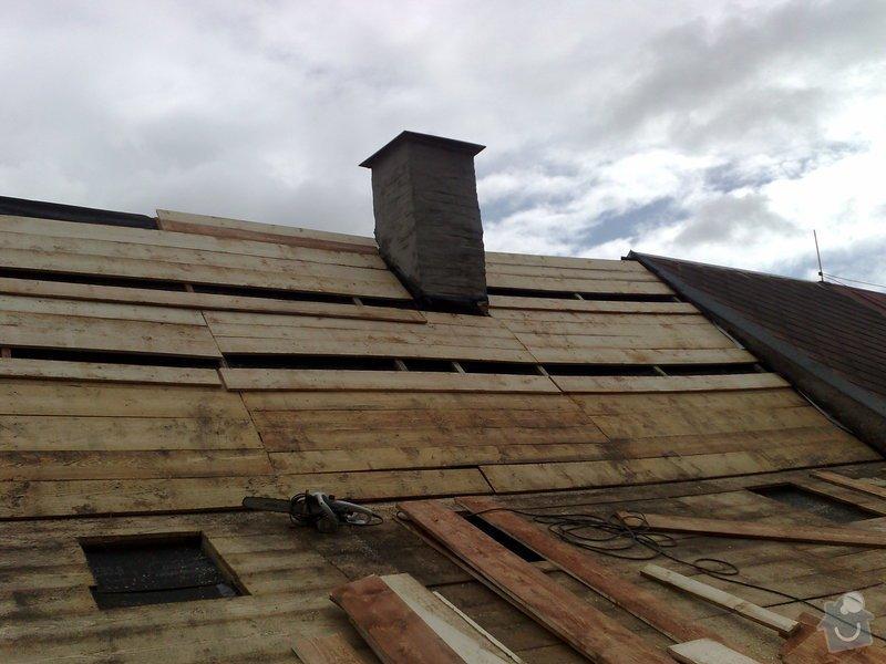 Rekontrukce střechy - dvouplášť: chod_plan_05