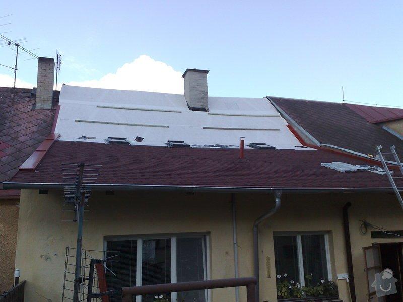 Rekontrukce střechy - dvouplášť: chod_plan_07