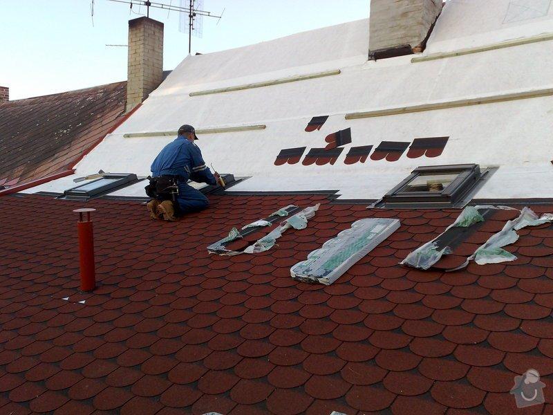 Rekontrukce střechy - dvouplášť: chod_plan_08