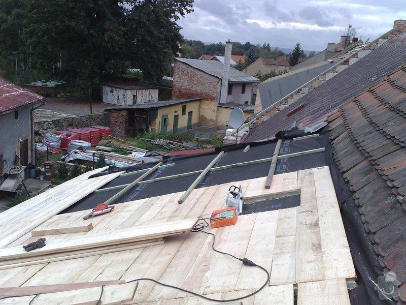 Rekontrukce střechy - dvouplášť: chod_plan_09