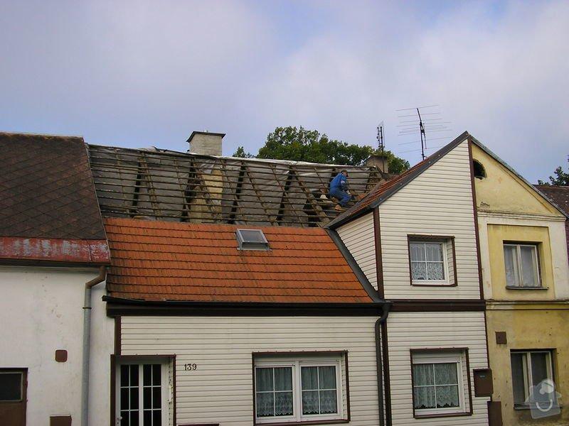 Rekontrukce střechy - dvouplášť: chod_plan_10