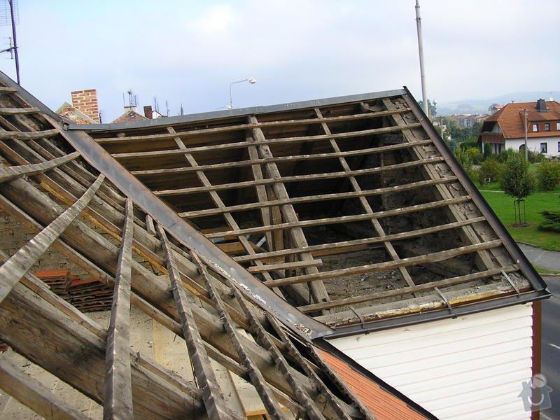 Rekontrukce střechy - dvouplášť: chod_plan_11