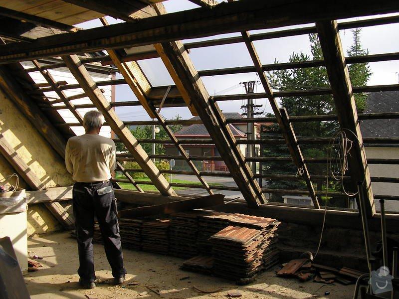 Rekontrukce střechy - dvouplášť: chod_plan_12