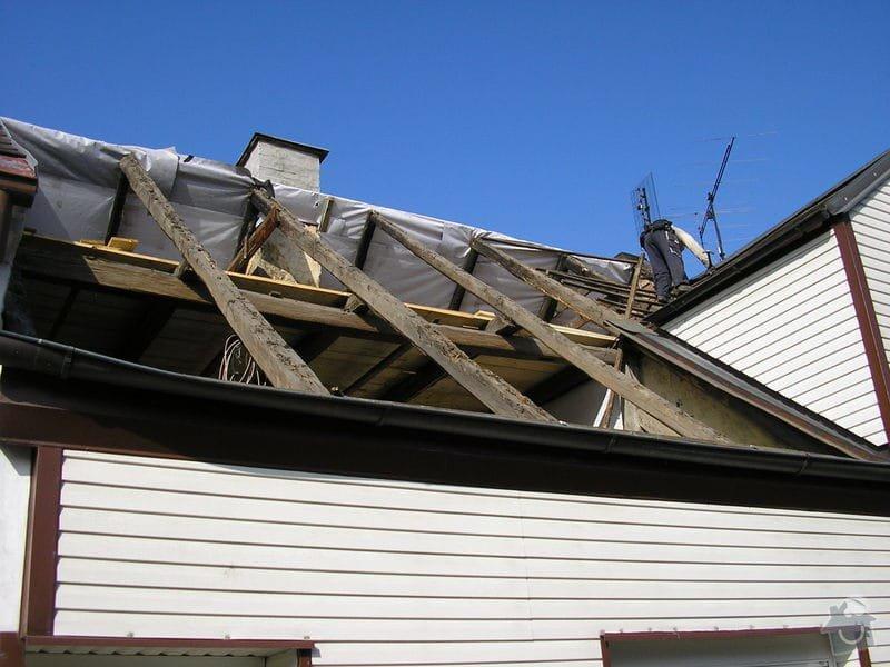 Rekontrukce střechy - dvouplášť: chod_plan_13